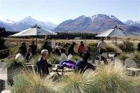 Tasman Delta Cafe Views Mt Cook