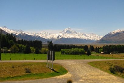 Mount cook web camera