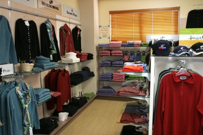 Glentanner Park New Zealand Merino Wool Retail and Souvenir Shop Mount Cook