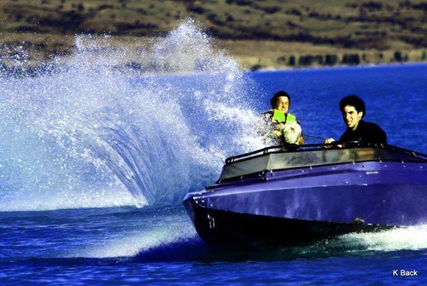 Waterskiing Lake Pukaki Aoraki Mount Cook